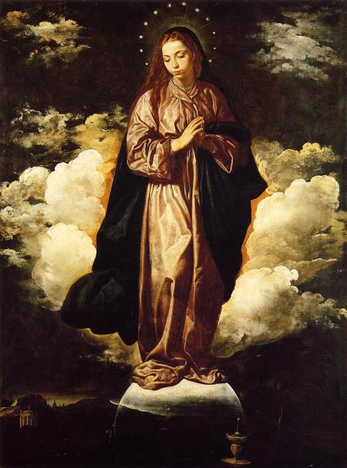 God the Mother 1619 Diego Velazquez Baroque Spain oil canvas The immaculate conception Principe Jose Maria Chavira MS Adagio I - The Spirit of Man